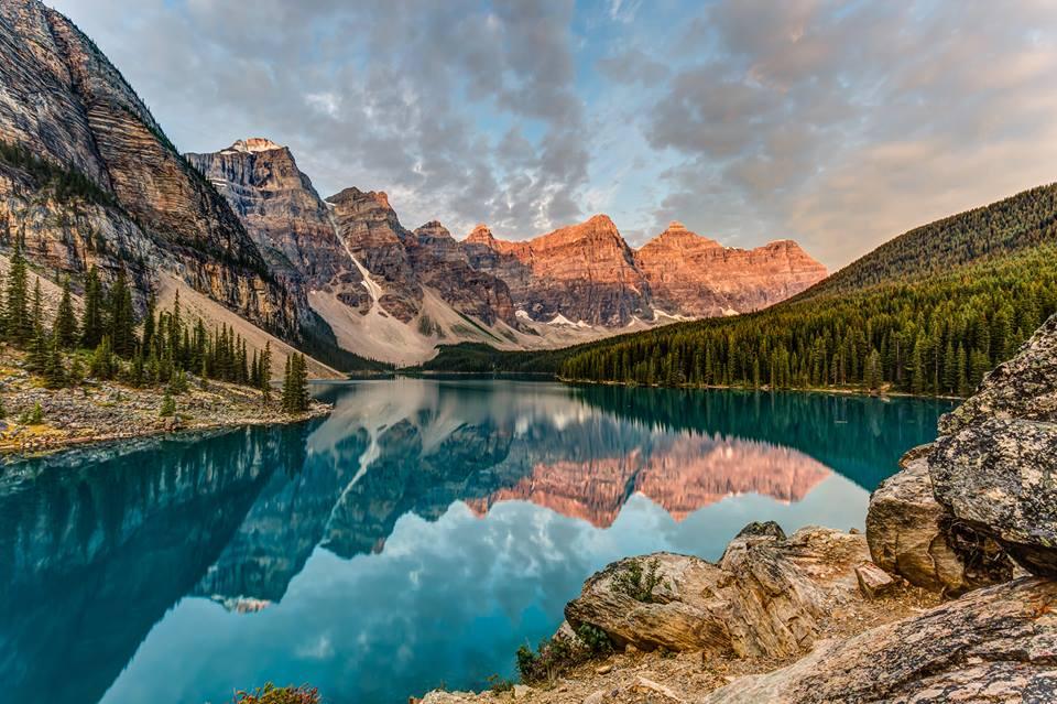 Lake Morraine , Canadá