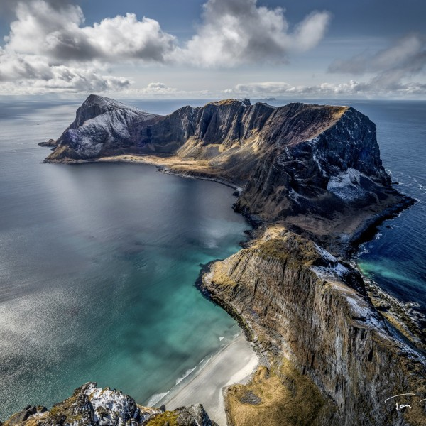 Vaeroy Island Norway