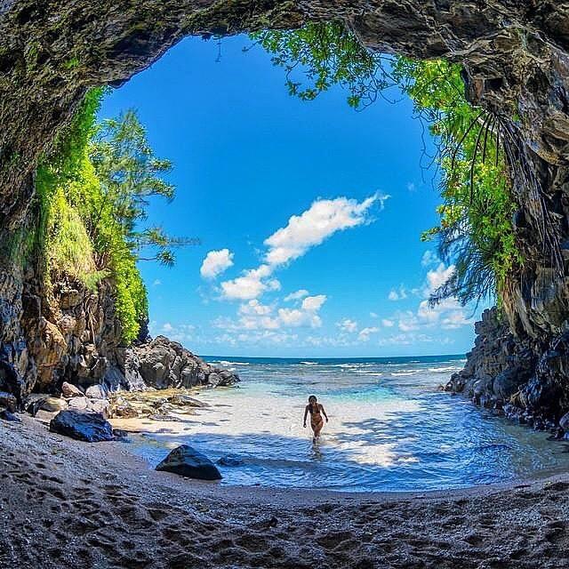 Hidden beauty in Kauai, Hawaii.