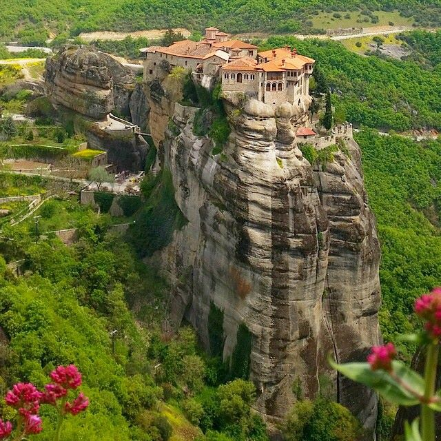 Monastery in Greece