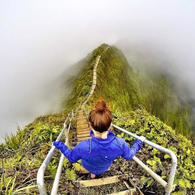 Haiku Trail Hike, Hawaii