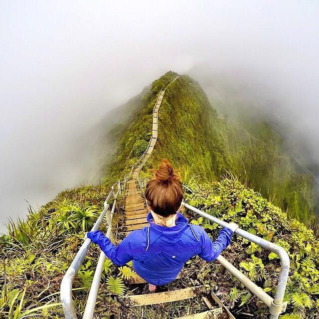 Haiku Trail Hike, Hawaii