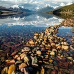 Lake Mcdonald Montana USA