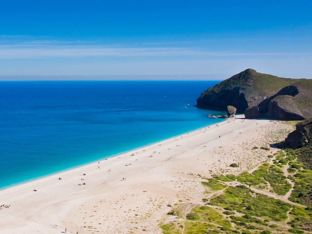 playa de los muertos Almeria