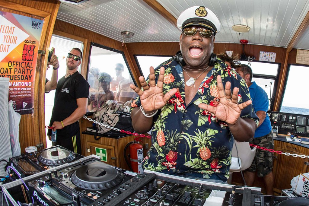 carlcox boat party