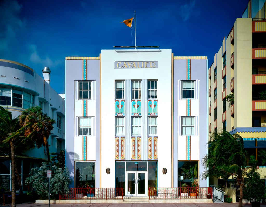 Edificio Art Decó en South Beach Miami